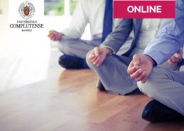 Monitor de Mindfulness aplicado al trabajo, en la Universidad Complutense de Madrid.
