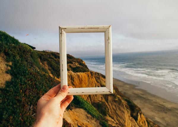 Imagen de un encuadre del mar, para reflejar el trabajo del un proceso con un coach personal.