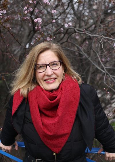 Almudena de Andrés. Foto de perfil.
