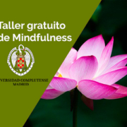 almudena de andres mf taller gratuito - Taller gratuito de Mindfulness. Online. Martes, 14 de Septiembre de 2021